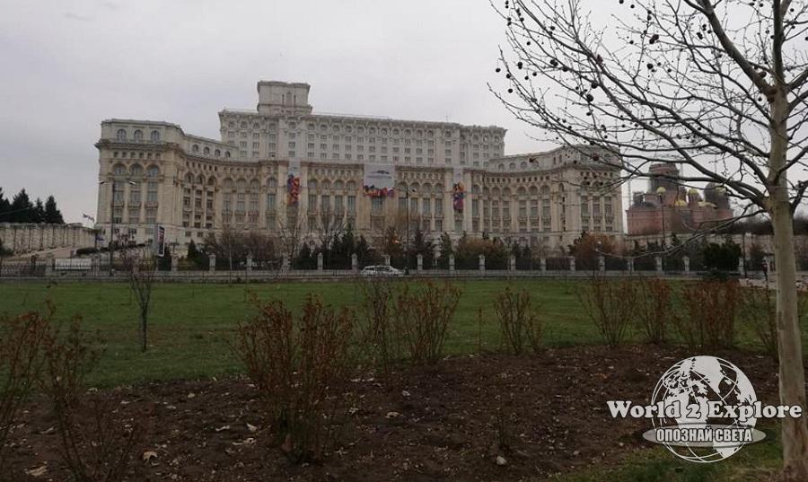 Букурещ парламент