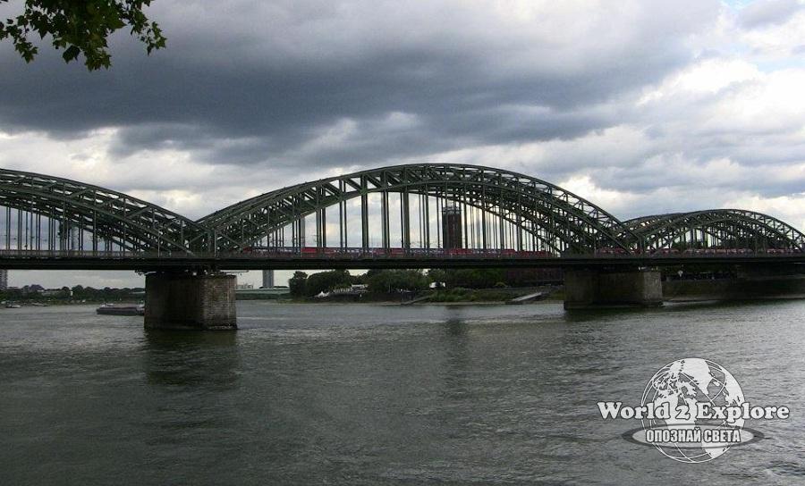 Рейн-мост-Кьолн
