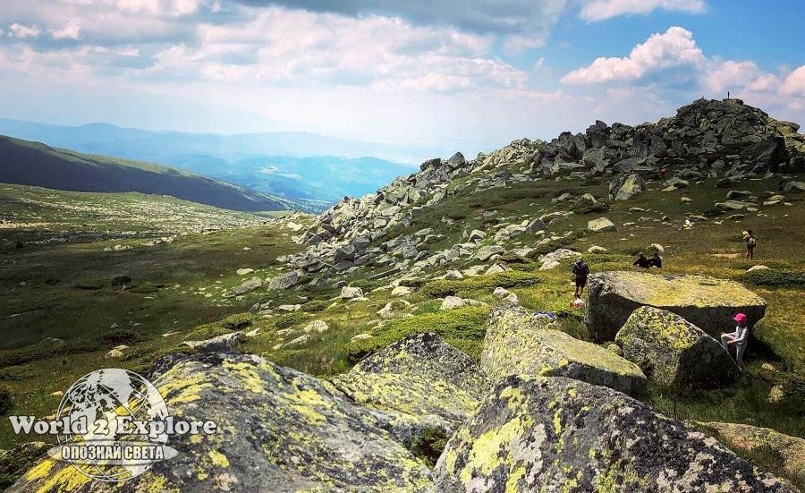 Черни връх, Витоша-разходка