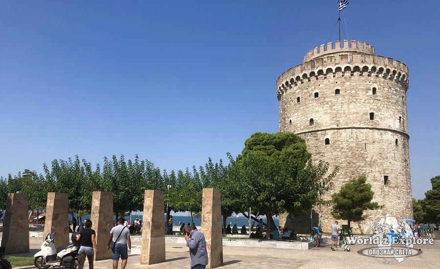 Бялата-кула-Солун