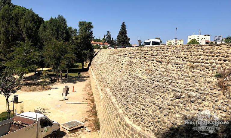 крепостна стена Никозия