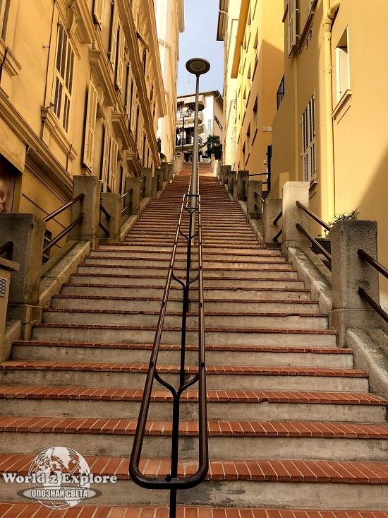 стълби-монако