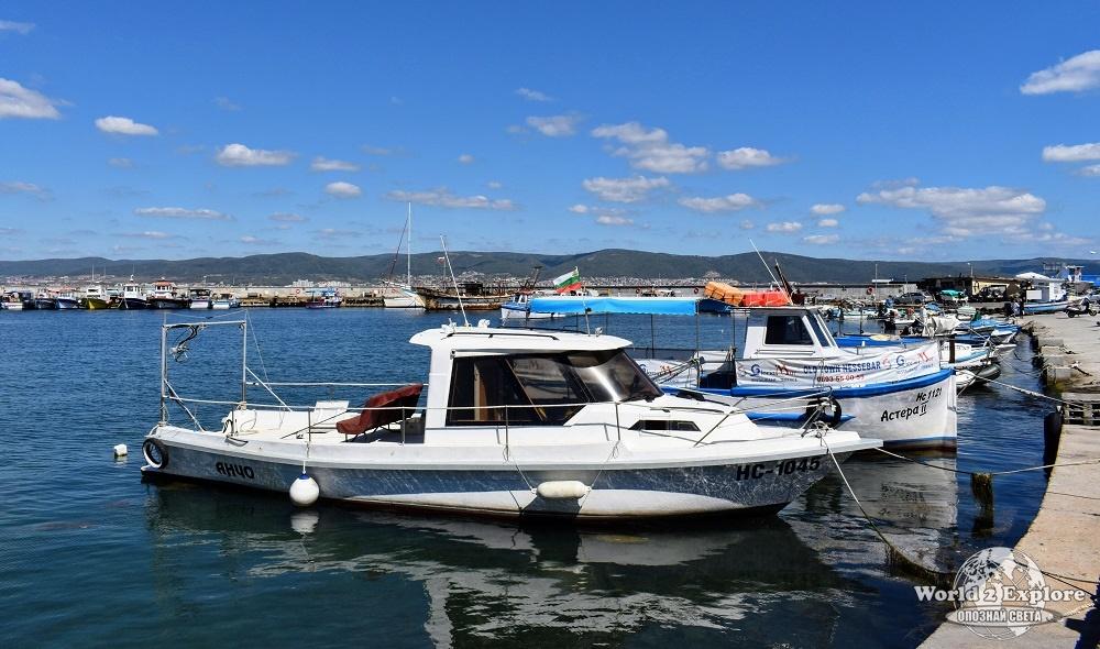 лодки-несебър