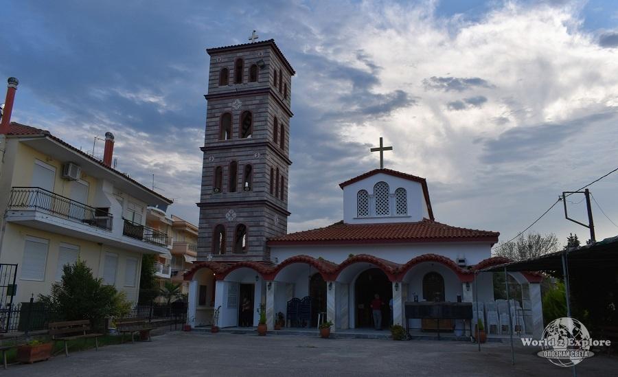 "църквата Μεταμόρφωση Σωτήρος (""Преображение Господне"")"