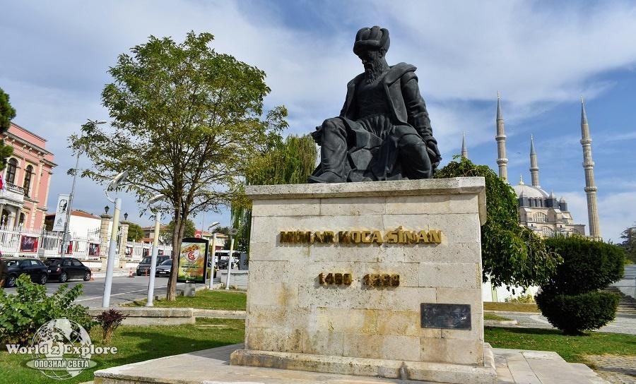 паметникът на Мимар Синан
