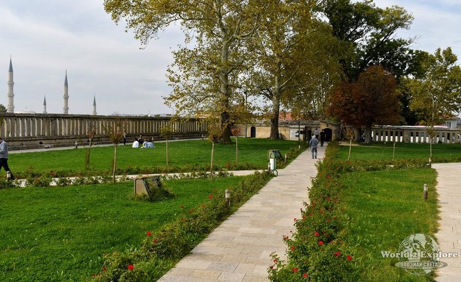джамия селимие градини