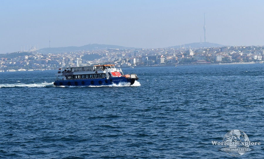 корабче босфора истанбул