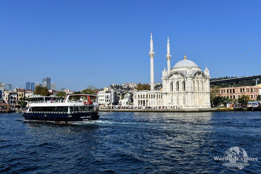 джамията ортакьой истанбул