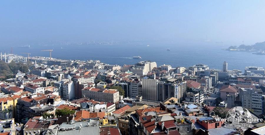 от кулата галата истанбул