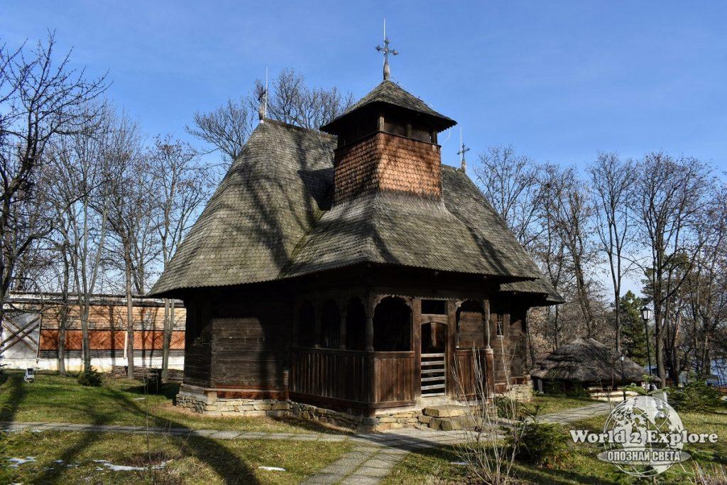 музей на селото букурещ румъния