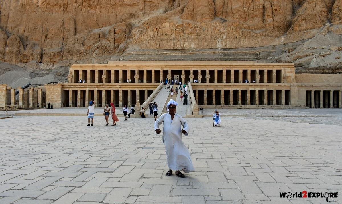 храм египет хатсепшут